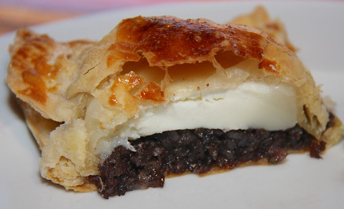 Morcilla and Goat Cheese Pie