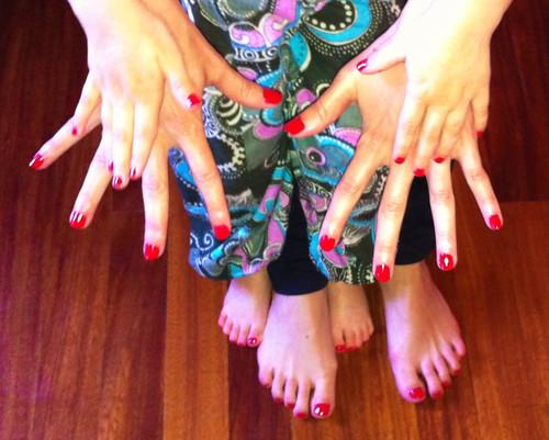 Twenty Fingers and Twenty Toes