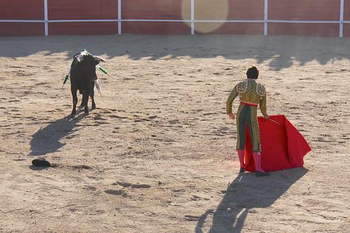 Bullfight - Zahínos 2012