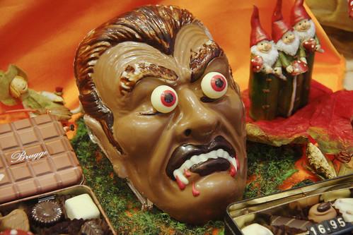 Scary Chocolate Vampire