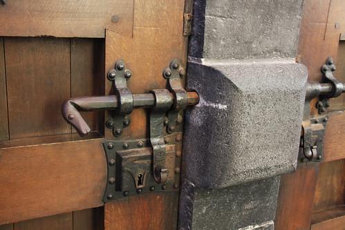 Bruges Church Door