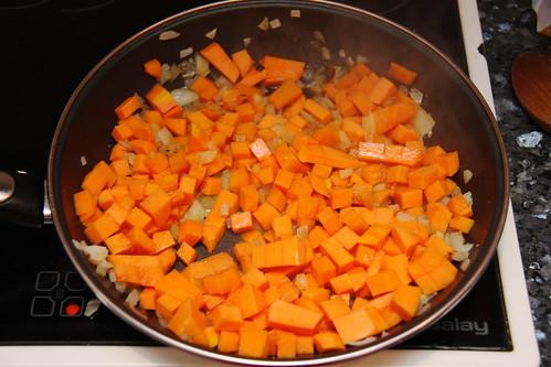 Pumpkin Almond Risotto