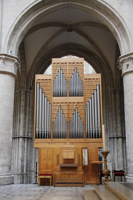 Brussels Cathedral Organ