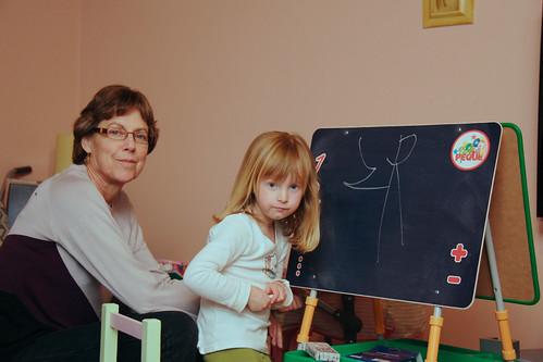 Drawing With Grandma