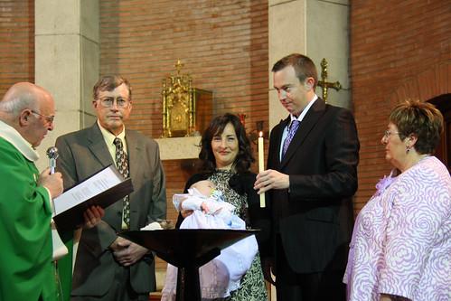 Ian's Baptism