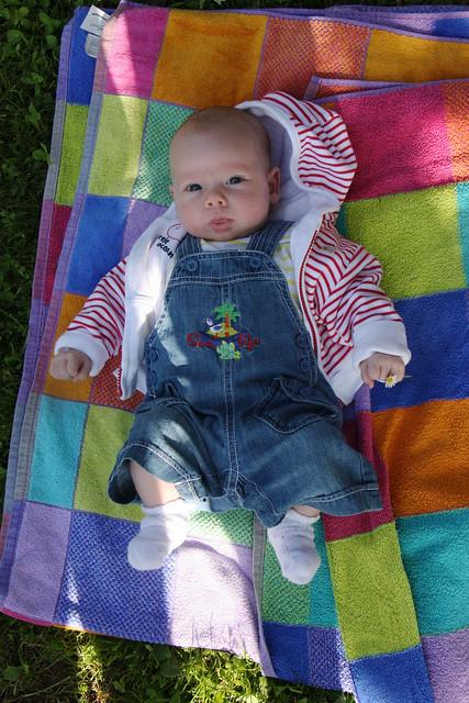 Ian on the grass