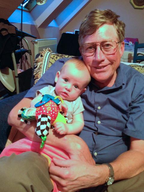 Ian and Grandpa