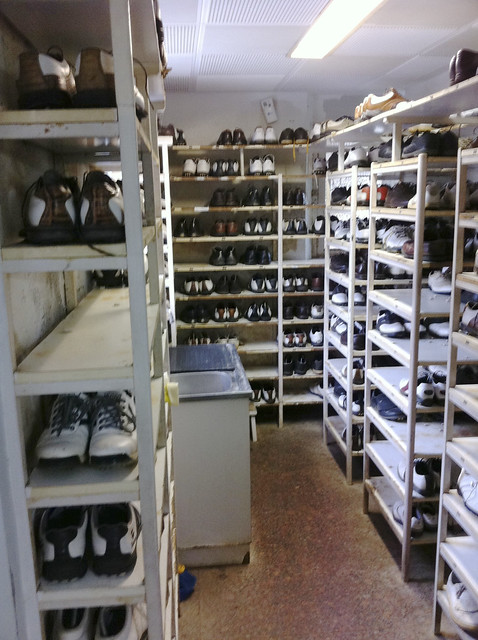 Pedreña Locker Room Members' Shoes