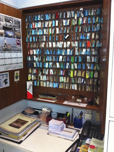 Pedreña Locker Room Keys