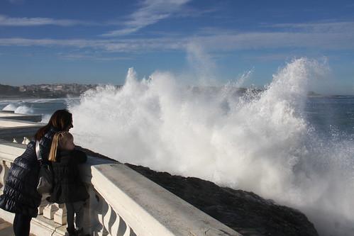 Waves in Santander