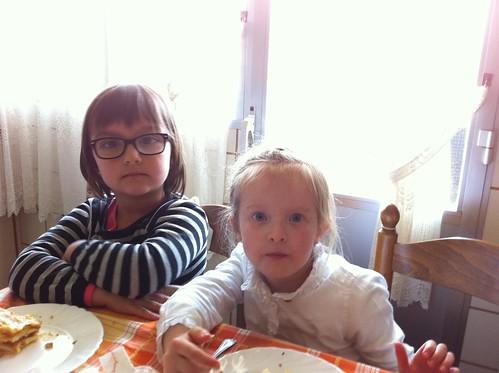 Eating Cake With Chloe