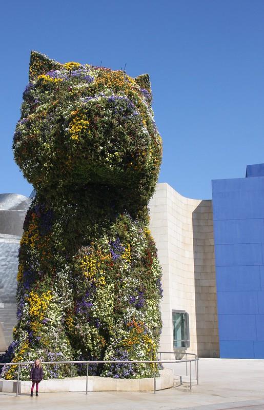 Nora and Westie - Guggenheim - Bilbao