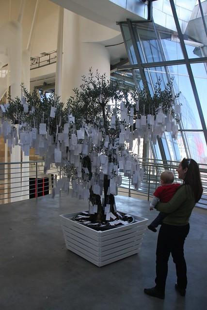 Yoko Ono - Wishing Tree - Guggenheim - Bilbao