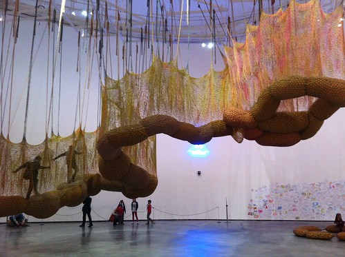 Suspended Art
