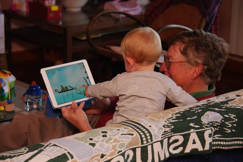 Angry Birds with Grandpa