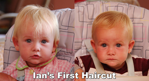 Ian's First Haircut