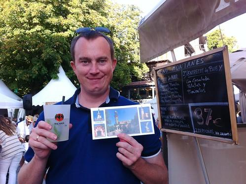 Mojito and Postcard