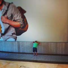 Hide and seek at the mall
