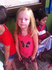 First Day of School - Preschool Senior Year - 2014-2015