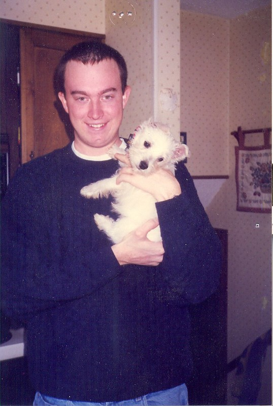 Erik and Sam, December 1999
