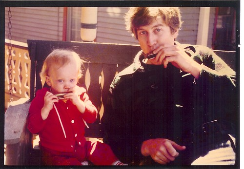 Harmonica With Dad