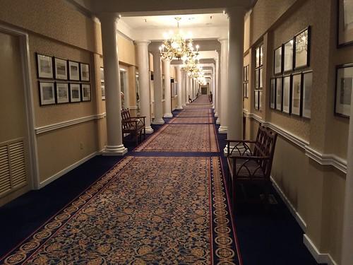 Pinehurst Resort - Hallway