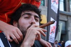 spanish smoking cigar