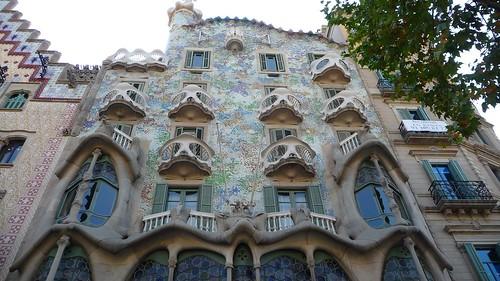 Casa Batlló view from Passeig de Gràcia