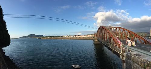 Crossing Treto Bridge