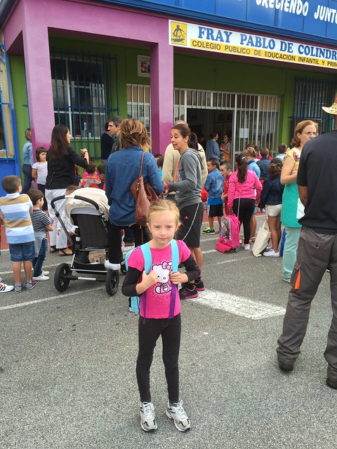 Nora's First Day of First Grade