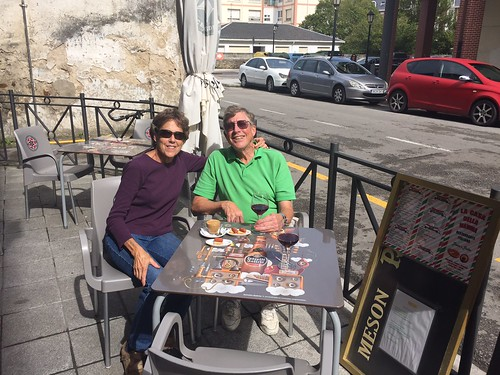 Paul and Betsy at Italian Place