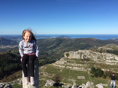 Nora on top of the world