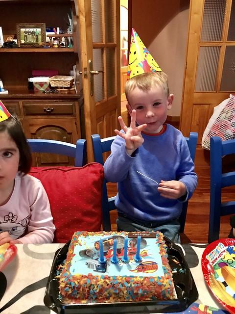 Ian's Fourth Birthday