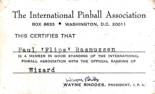 Paul Flips Rasmussen